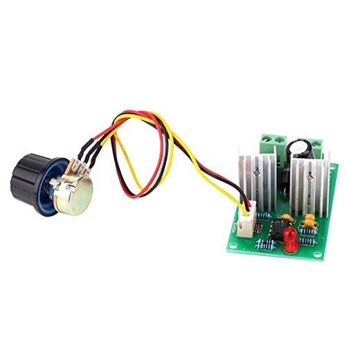 YUNJINGCHENMAN Módulo regulador de Velocidad del Controlador del Controlador de Velocidad del Motor DC de 10A PWM del Controlador de Velocidad 12V 24V 36V Módulo del Controlador de Velocidad