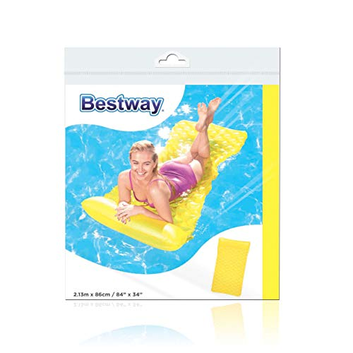 Bestway Inflatable Float'n Roll Air Mat Sleeping Bed Sun Pool Lounger Garden Lilo