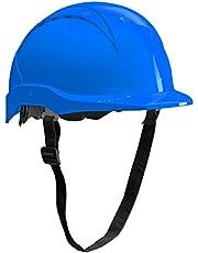 ACE Patera Casco Obra - Casco Seguridad - Casco de trabajo con cierre de rosca, ventilado y ajustable