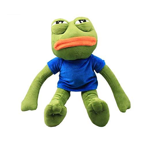 42 cm Cartoon Pepe Sad Frog Plush Toy Soft Stuffed Animal Toys for Children Gift