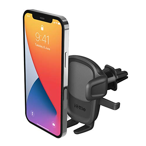 iOttie Easy One Touch 5 Air Vent Car Mount Phone Holder for iPhone, Samsung, Moto, Huawei, Nokia, LG, Smartphones