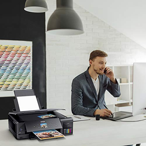 Epson Expression Premium  EcoTank Wireless 5-Color All-in-One Supertank Printer with Scanner, Copier and Ethernet Photo #3