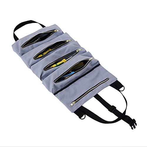 Changor Bolsa de Almacenamiento de Herramientas Multiusos, Kits de Herramientas de reparación 48x29cm Bolsa de Herramientas Lienzo Hecho