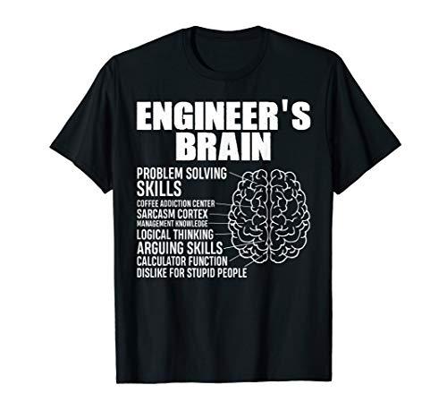 Engineer Spruch, Maschinenbau ,Lustiges Ingenieur Geschenk T-Shirt