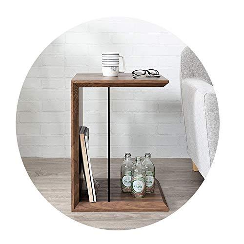 Mesa Chunlan Estilo Japones Sofá Puede Colocar Artículos Vidrio Templado Adecuado para Sala De Estar, Estudio, Dormitorio Centro