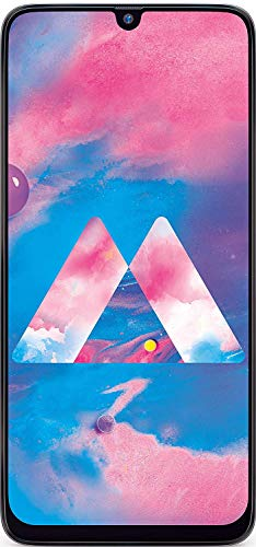 Samsung Galaxy M30 (64GB, 4GB RAM) 6.4' Display, Low Radiation, Triple Camera, 5000mAh Extended Battery, Global 4G LTE Dual SIM GSM Factory Unlocked M305M/DS - International Model (Gradation Black)
