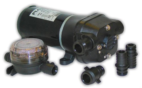 FloJet 04125114A Bomba de sentina marina de agua dulce (5 GPM, 12 voltios, 11 amperios)
