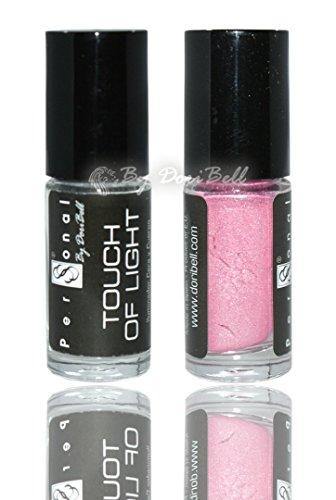 By doribell® poussière Touch of light 06 couleur rose bubble-gum Illuminateur 30 ml.
