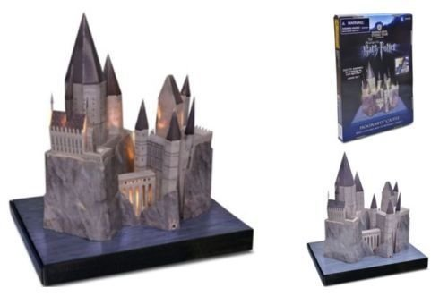Warner Bros. Harry Potter Hogwarts Castle School 3D Model Official Studio Tour London Merchandise
