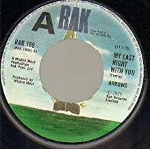ARROWS - MY LAST NIGHT WITHOUT YOU - demo issue - 7 inch vinyl / 45 record