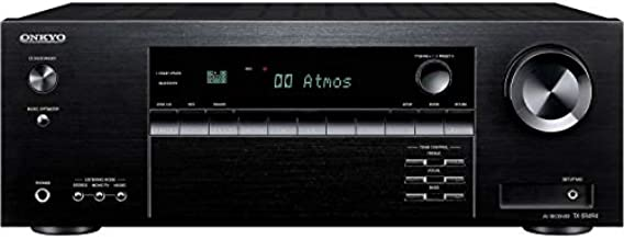 Onkyo TX-SR494 AV Receiver with 4K Ultra HD | Dolby Atmos | DTS: X | Hi-Res Audio (2019 Model)