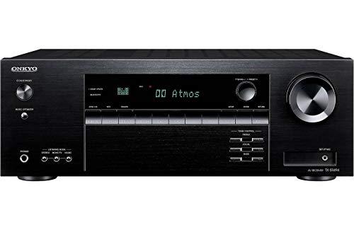 Ricevitore AV Onkyo TX-SR494 con 4K Ultra HD | Dolby Atmos | DTS: X | Audio ad alta risoluzione (modello 2019)