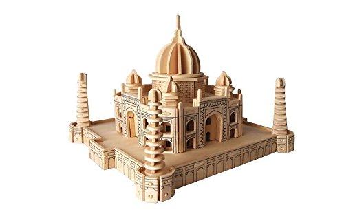 ETNA Iława Taj Mahal 3D Holzbausatz Moschee Tadsch Indien Holz Steckpuzzle Holzpuzzle Bauwerk P210