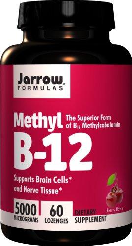 Jarrow Formulas, Methyl B12 Lozenges 5000Mcg, 60 Count
