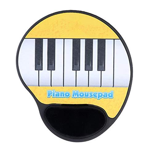 Vfhdd Music Piano Key Mouse Pad Electronic Piano Performance Pad Muñecas Soporte Mat