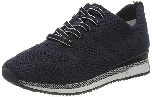 MARCO TOZZI 2-2-23750-26 Sneaker, Zapatillas Mujer, Azul Marino, 37 EU