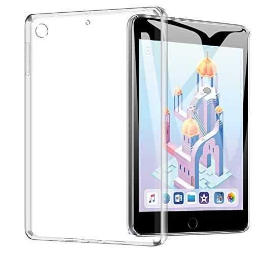 TOPACE Hülle für iPad Mini 5/iPad Mini 2019, Ultra Schlank TPU Hülle Schutzhülle Durchsichtig Klar Silikon transparent für iPad Mini 5 2019(Transparent)