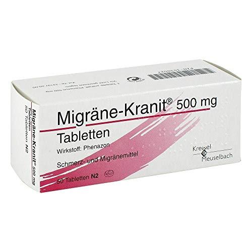 Migräne-Kranit 500 mg Tabletten, 50 St