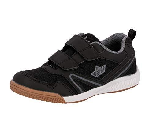 Lico BOULDER V Multisport Indoor Schuhe Unisex Kinder, Schwarz/ Anthrazit, 38 EU