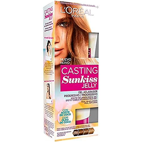 L'Oreal Paris Casting Crème Gloss Jelly 01 para Cabello Castaño