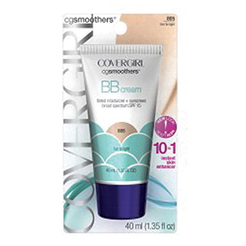 Price comparison product image COVERGIRL Smoothers Lightweight BB Cream,  Fair to Light 805,  1.35 oz (Packaging May Vary) Lightweight Hydrating 10-In-1 Skin Enhancer with SPF 21 UV Protection