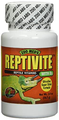 Zoo Med Reptivite 57g Nahrungsergänzungsmittel mit Vitamin D3 für Reptilien