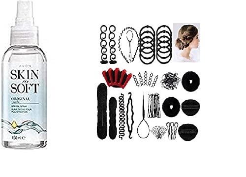 Avon Skin So Soft Mosquito repelente de insectos aceite seco original Spray con Jojoba con LIPSTICK y perfume, muestra – Get it first from beauty 1st
