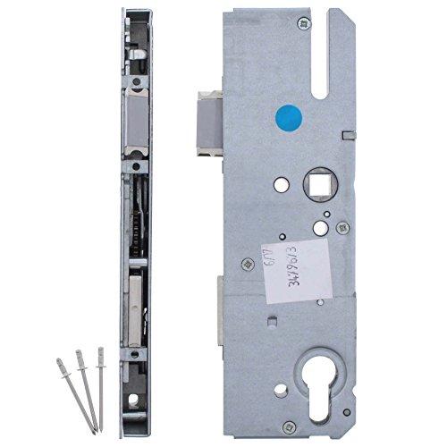 Serrure KFV pour remplacer une serrure existante - Pour verrouillage multiple - Fouillot 10 mm distance 92mm, appuie-tête 50mm