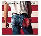 pujiaoshang Bruce Springsteen Album Copertina Decorazione murale Pittura Immagini Soggiorno Opera d'Arte Unica Decorazione domestica-60x60cm Senza Cornice
