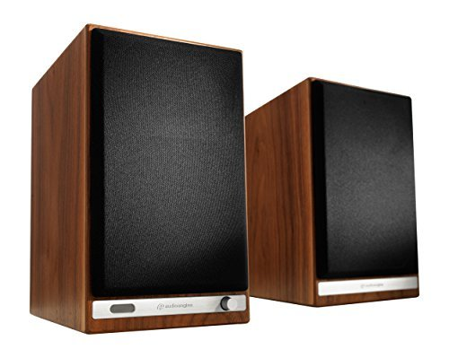 Altavoces de Estantería Inalámbricos Audioengine HD6 150W | Amplificador Analógico...