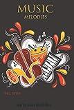 music (jazz, ambient, pop ,rock, smooth jazz): melodies