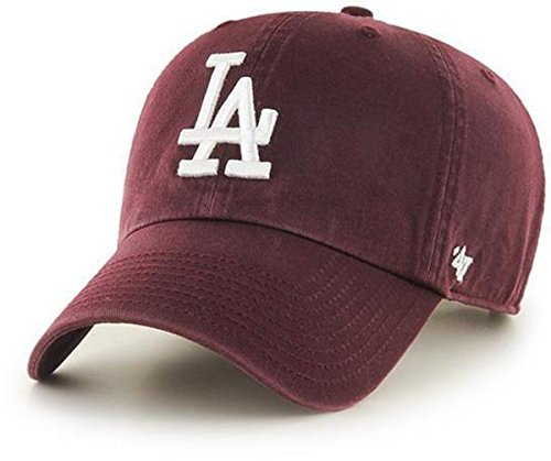 47 Brand Gorra MLB Los Angeles Dodgers Clean Up rojo