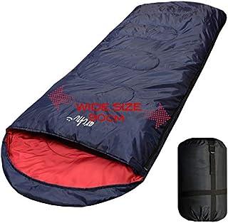 【archi】ワイドサイズ 寝袋 シュラフ 封筒型 抗菌仕様 車中泊 防災 最低使用温度 -15℃