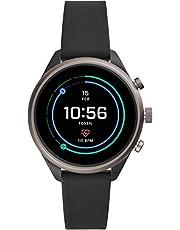 [フォッシル] 腕時計 Fossil スポーツスマートウォッチ FTW6024 レディース 正規輸入品 ブラック