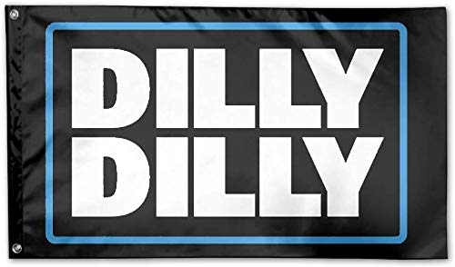 bA1 Outdoor - Dilly Dilly Flag - Cool Beer Flags - Funny Banner for College Dorm Room, Man Cave, Tailgates and Parties - 3x5 Feet