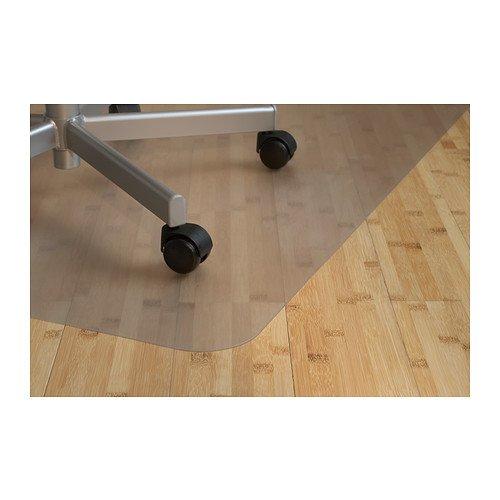 """IKEA Stuhlunterlage \""""KOLON\"""" Fußbodenschutz Bodenschutzmatte in 120x100 cm - transparent"""