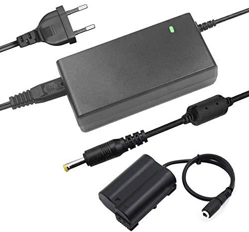 TKDY Kit de fuente de alimentación de CA EP-5B EH-5 Plus (repuesto de cargador Nikon EN-EL15) para cámaras Nikon D500, D600, D610, D750, D7000, D7100, D7200, D7500, D800, D800E, D800A, 1V1