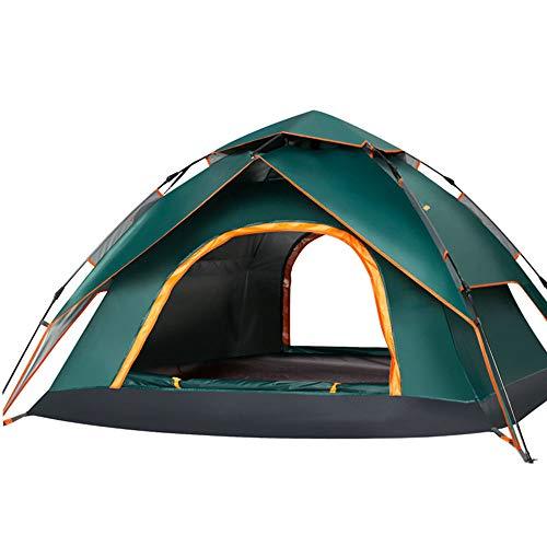 tent Carpa automática de Dos Puertas para 2-3-4 Personas, Tienda de campaña al Aire Libre, Carpa Multifuncional de Apertura rápida hidráulica
