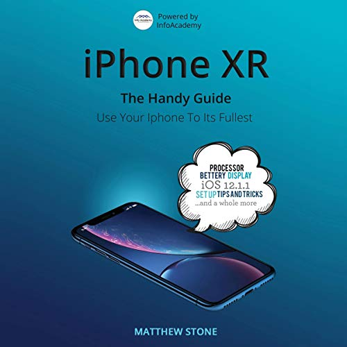 iPhone XR: The Handy Apple Guide cover art