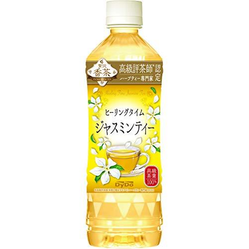 ダイドードリンコ 贅沢香茶ヒーリングタイムジャスミンティー 500ml×24本