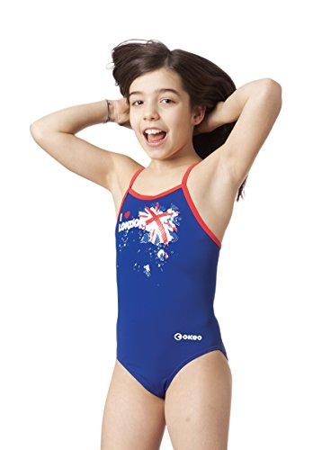 Okeo -VICTORIA- Costume intero bambina per il nuoto_tg 36