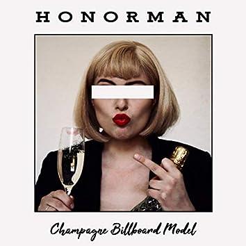 Champagne Billboard Model