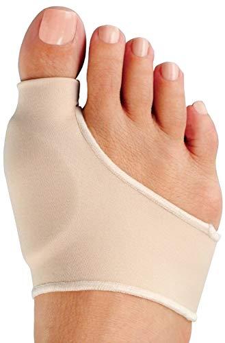 Medipaq® Gel Pad Zehen und Ballen Protektor - Holen Sie sich Schmerzlinderung der Ballen bei Blasen, Gicht oder Arthritis für einen Bequemeren Spaziergang - 1x Einlagen Medium
