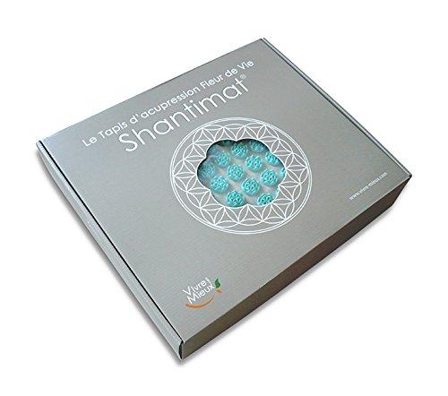 Tapis Fleur de Vie Shantimat - - 3 couleurs disponibles (Vert)