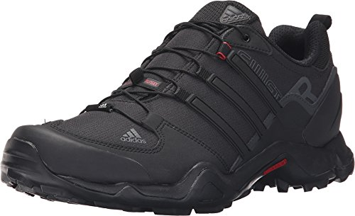 adidas Outdoor Terrex Swift R Hiking Shoe – Men's Black/Power Red/Dark Grey 12