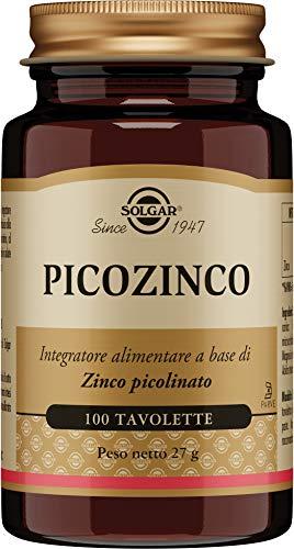 Solgar Picozinco -100 tavolette, 27g
