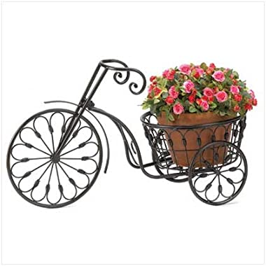 Summerfield Terrace Nostalgic Bicycle Home Garden Decor Iron Plant Stand
