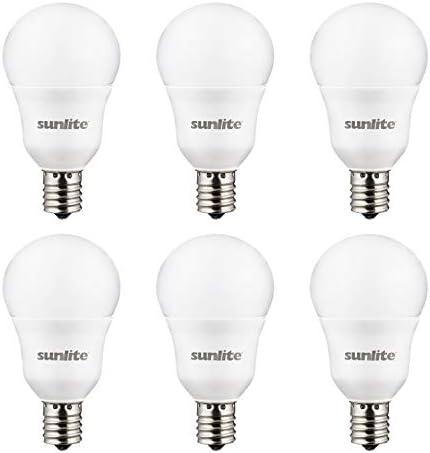 Sunlite 41409 SU LED A15 Light Bulb 6 Watts 40W Equivalent Intermediate Base E17 480 Lumens product image