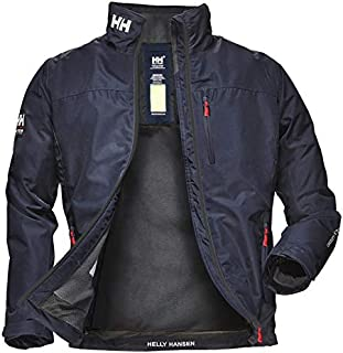 Helly Hansen Crew Midlayer Giacca Impermeabile Uomo, Blu (Navy), XS