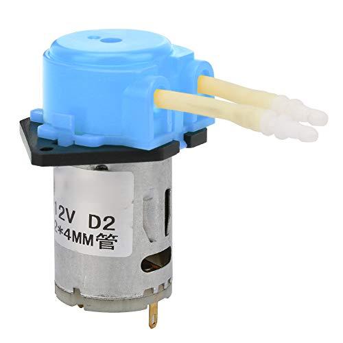 Bomba peristáltica líquida de agua azul DC12V, bomba peristáltica de laboratorio, tubo de silicona para experimentos, análisis bioquímico, productos farmacéuticos